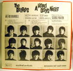 Click to view larger image of 'A Hard Day's Night' Beatles LP vinyl mono record 1964 (Image3)