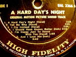 Click to view larger image of 'A Hard Day's Night' Beatles LP vinyl mono record 1964 (Image7)