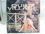Click here to enlarge image and see more about item lprqvdenny: Quiet Village Vintage Martin Denny LP record 1959