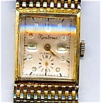 Click here to enlarge image and see more about item lwwm1: Vintage 14K gold Montrose lady's wristwatch