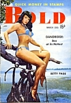 Betty Page 'Bold' vintage mini-magazine 1955