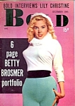 Click to view larger image of Betty Brosmer 'Bold' vintage mini-magazine 1955 (Image1)