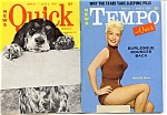 Vintage Tempo and Quick mini-magazine June 1955