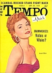 Click to view larger image of Vintage 'Tempo and Quick' mini-magazine September 1955 (Image1)