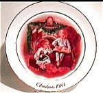 Click here to enlarge image and see more about item mcp22: Avon 'Christmas Memories' collector plate 1983