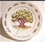 Click here to enlarge image and see more about item mcp24: Avon Fifth Anniversary Great Oak Plate