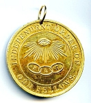 Odd Fellows James B. Nicholson medallion
