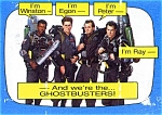 Click here to enlarge image and see more about item mtcghostii1: Ghostbusters II trading cards 1989