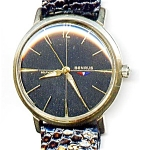 Click to view larger image of Benrus self winding automatic vintage man's watch (Image1)