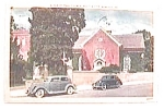 Click here to enlarge image and see more about item pc5: Vintage postcard - Old St. Paul's Church 1954