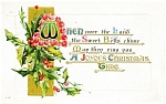 Click here to enlarge image and see more about item pcch23: Vintage Christmas Postcard Early 1900s