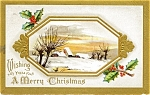 Click here to enlarge image and see more about item pcch34: Vintage Christmas Postcard 1911