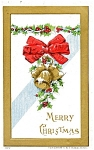 Vintage Christmas Post Card 1909