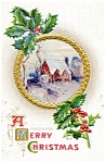 Click to view larger image of Vintage Christmas Postcard 1915 (Image1)