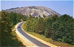 Click here to enlarge image and see more about item pcstonemtn5: Postcard set of five  Atlanta Airport Stone Mountain