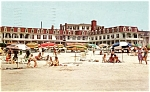Click here to enlarge image and see more about item pcus14: Windsor Hotel and Beach,Cape May, New Jersey
