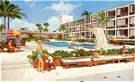 Post Card Pan American Motel Miami Florida