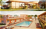 Click here to enlarge image and see more about item pcus7: Post Card Sun Ranch Motel Miami Beach Florida