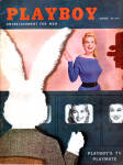 Click here to enlarge image and see more about item plbmg912: Playboy vintage magazine March 1956
