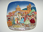 Click here to enlarge image and see more about item plchr12: Christmas in Mexico Royal Doulton plate 1973