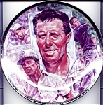 Click here to enlarge image and see more about item plgary1: Gary Player Platinum Edition collector plate