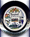 Click here to enlarge image and see more about item plmar51: Maryland Old Line State Plate Mid Century