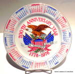 Click here to enlarge image and see more about item pltnvry4: 200th Anniversary Year collector plate 1776-1976