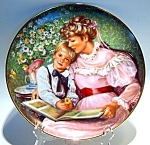 Click to view larger image of Times Remembered collector plate Sandra Kuck 1986 (Image1)