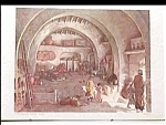 Click here to enlarge image and see more about item pr8: 1963 Junior Sunday School art print biblical scene