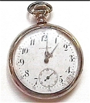 Click here to enlarge image and see more about item pw4: Antique A.E. Elbe & Son vintage pocket watch