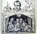 Click here to enlarge image and see more about item rlpwgtehr2: The Watergate Comedy Hour lp vinyl record 1973