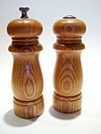 Click here to enlarge image and see more about item sps36wdnl: Light wood salt and pepper shaker