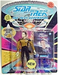 Click here to enlarge image and see more about item stda7: Star Trek Data Figurine 1993