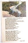 Click to view larger image of Hawks Nest Rock, West Virginia vintage post card (Image1)