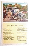 Click here to enlarge image and see more about item uspc14: That Dear Old Flivver vintage postcard