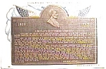 Lincoln's Gettysburg Address vintage post card