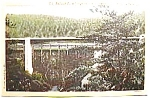 Click to view larger image of Tallulah Falls Bridge, Ga. vintage post card (Image1)