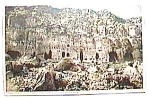 Cliff Dwellers New Mexico vintage post card