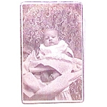 Click here to enlarge image and see more about item vph10: Baby vintage Carte de Visite photo