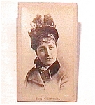 Young Woman in Hat vintage Carte de Visite photo