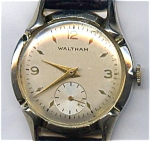 Click here to enlarge image and see more about item wm11wal: Vintage Waltham mechanical  man's wrist watch