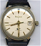 Vintage Bulova automatic man's wrist watch