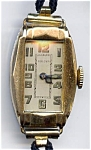 Click here to enlarge image and see more about item wwlbul2: Bulova vintage Swiss made lady's mechanical watch