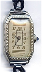 Click here to enlarge image and see more about item wwlgen1: Geneva 14k gold lady's vintage watch
