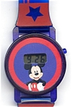 Click here to enlarge image and see more about item wwlmmdig3: Mickey Mouse digital watch