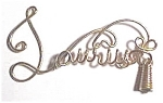 Click to view larger image of Taurus Zodiac Gold Wire Pendant (Image1)