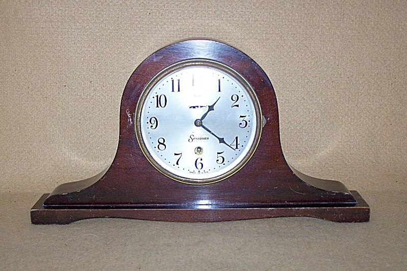 Antique 1920's Sessions Small Mantel Clock 1538