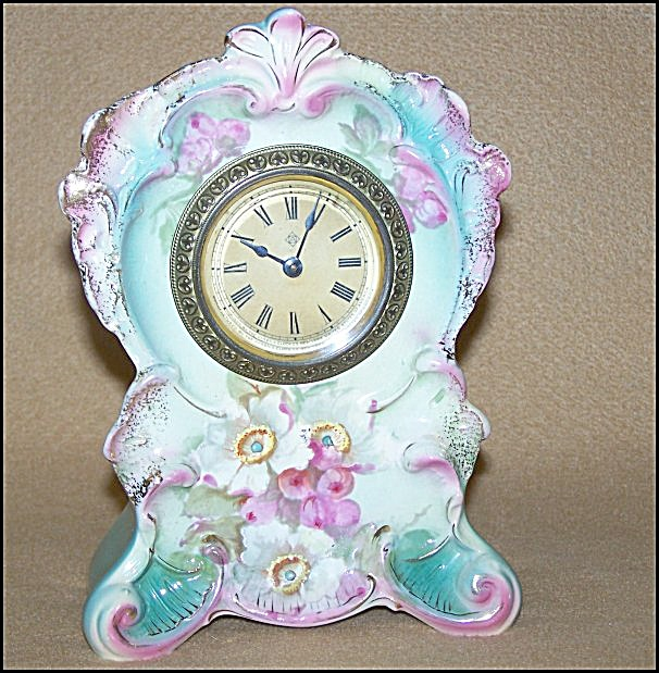 Ansonia Actor Royal Bonn 30-hour Clock C.1905