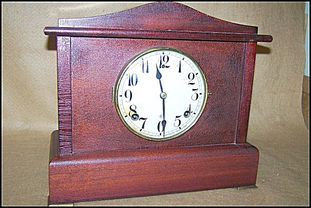 Antique 1900's Gilbert Chiming Mantel Clock