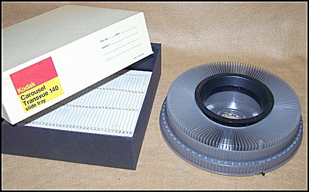 Kodak Carousel 140 35mm Slide Tray 161 (Image1)